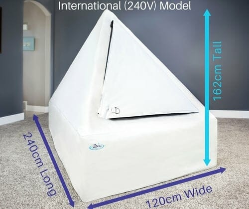 international model of the home float tent