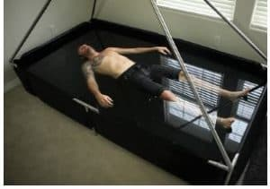 floating in a home tank