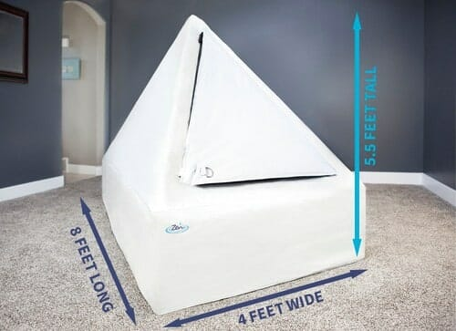 north america zen float tent