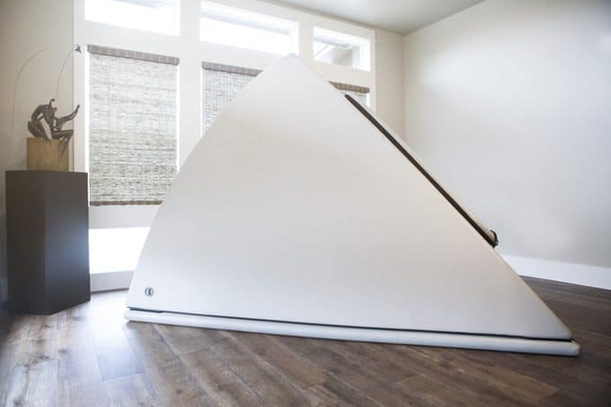 Introducing the Inflatable Zen Float Tank | You Have to Be Kiddin' Me!