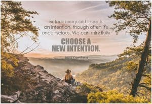 Intention quote.